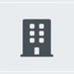 Grey Building Icon