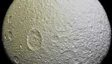 A Moon of Saturn
